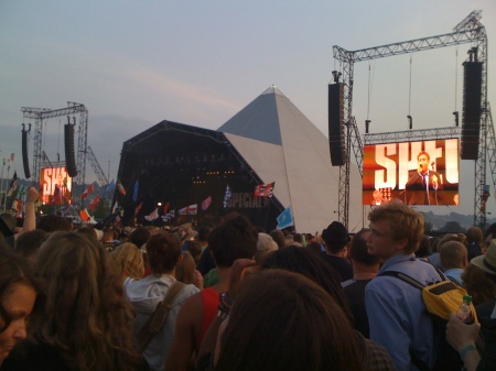 The Specials on the Pyramid Stage